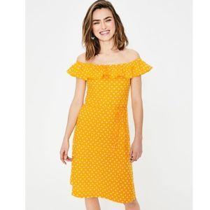 BODEN bethany jersey dress in happy spot star 10